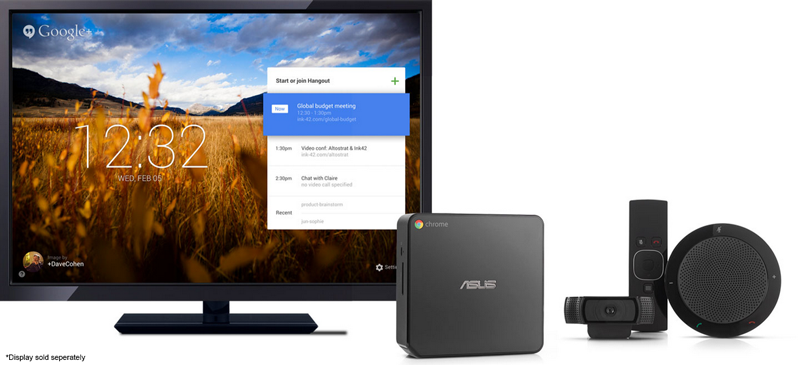 ASUS Chromebox For Meetings Bundle